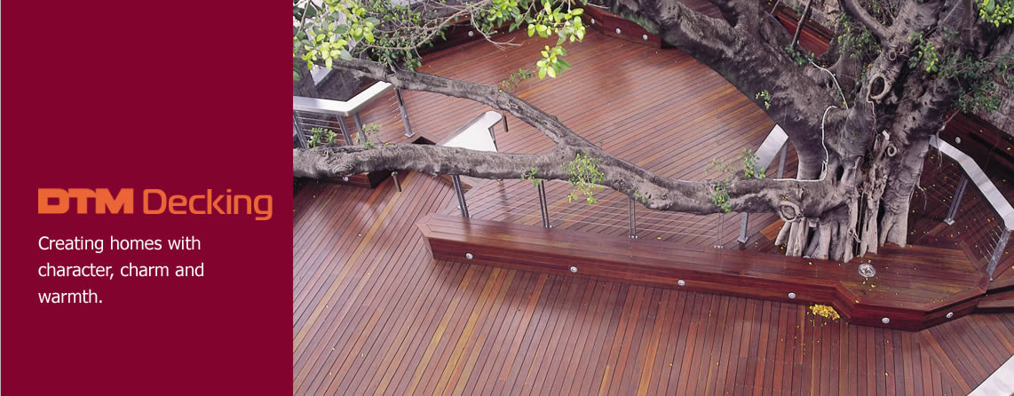 Overhead photo of decking timber used for a large outdoor uncovered entertainment area